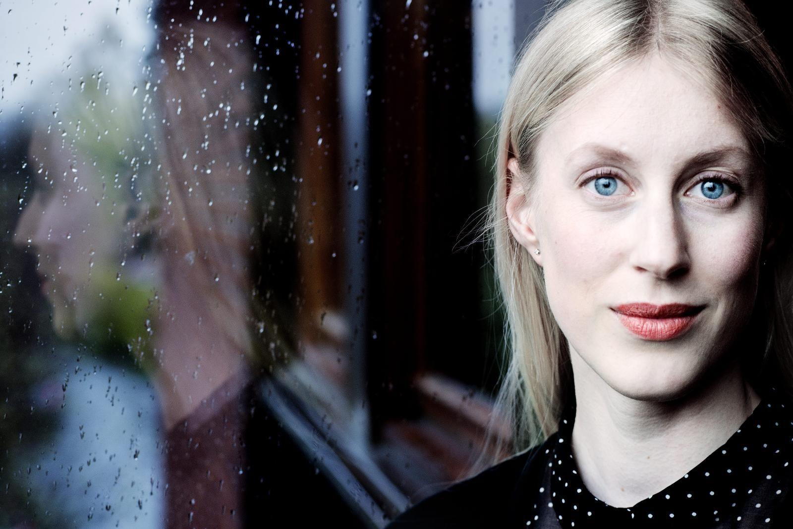 Portrett av Ingrid Halland.